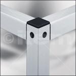 Uniones de perfiles de aluminio