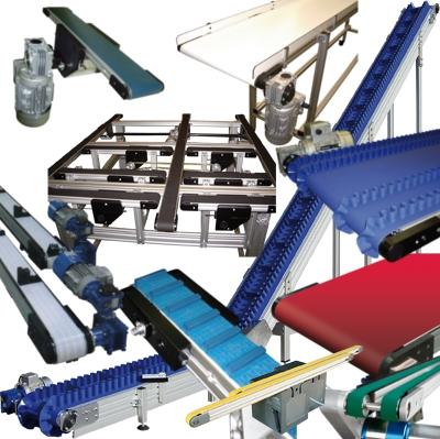 Transportadores de banda para aplicaciones industriales
