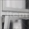 Bisagras para perfiles de aluminio