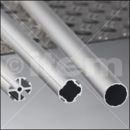 Perfiles tubulares de diámetro 30 mm