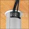 Perfiles de aluminio con canaleta integrada