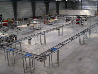 Linea de montaje flexible 1000-2000