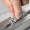 Tuercas para perfiles de aluminio