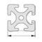 Anchura perfil de aluminio