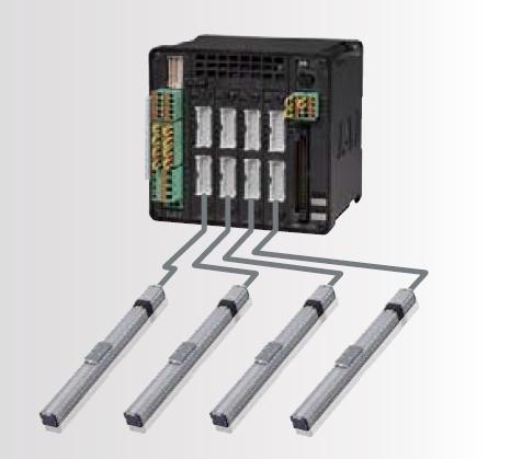 controlador de multiples actuadores