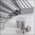 imagen perfiles de aluminio