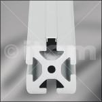 Cobertura para las ranuras de los perfiles de aluminio