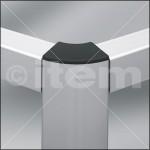 unión de perfiles de aluminio a distintos ángulos