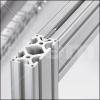 Uniones a escuadra para perfiles de aluminio