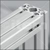 uniones enclavijadas de perfiles de aluminio